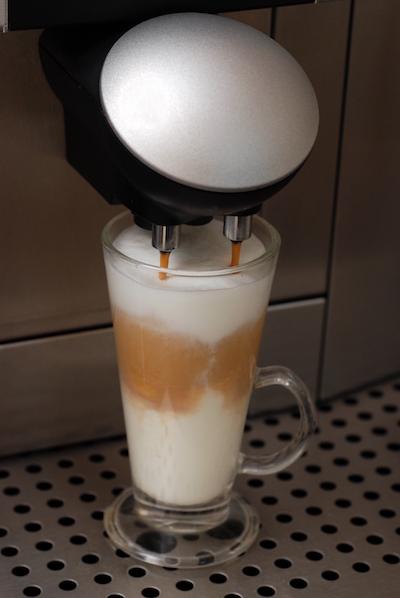 Latte-Vollautomat