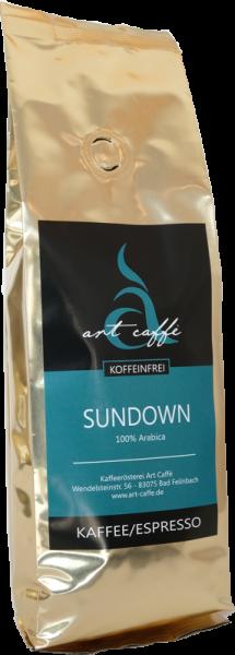"""Kaffee Entkoffeiniert """"Sundown"""""""