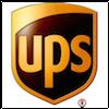Wir versenden per UPS